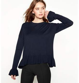 MBYM Navy Knitted 'Cubus' Jumper