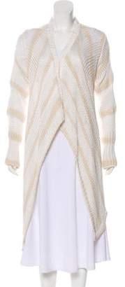 Rachel Zoe Semi-Sheer Lightweight Sweater