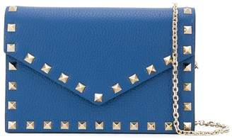 Valentino Rockstud chain pouch