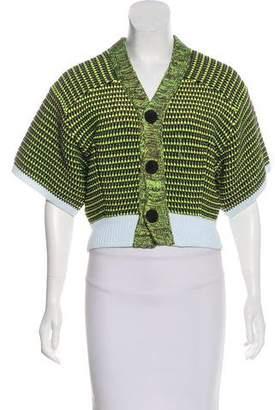 Toga Knit Short Sleeve Cardigan