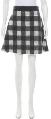Balenciaga 2016 Mohair-Blend Skirt w/ Tags