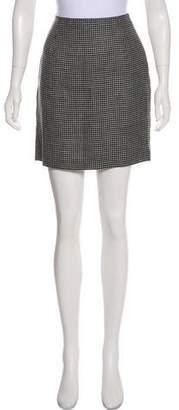 Ungaro Plaid Mini Skirt