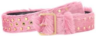 Prada Calf hair belt