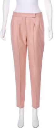 Max Mara Mid-Rise Virgin Wool Pants