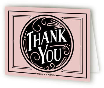 Romantic Revelry Thank You Cards