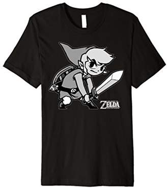 Nintendo Zelda Wind Waker Link Fight Stance Premium T-Shirt
