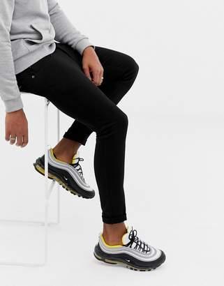 Pull&Bear Super skinny jeans in black