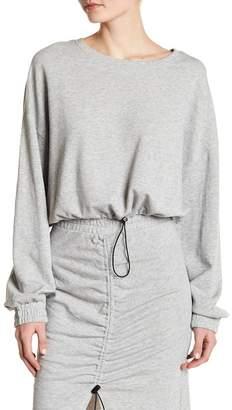 Melrose and Market Drawstring Sweatshirt (Regular & Petite)