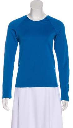 Champion Textured Athletic Long Sleeve Top