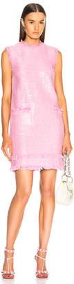MSGM Sleeveless Shift Dress