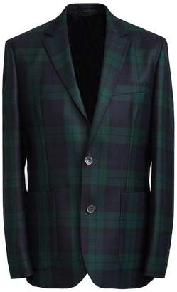 Pretty Green Tailored Single Breasted Check Jacket
