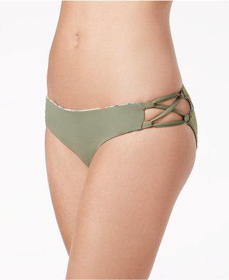 Roxy Strappy Cheeky Bikini Bottoms Women's Swimsuit $39.50 thestylecure.com