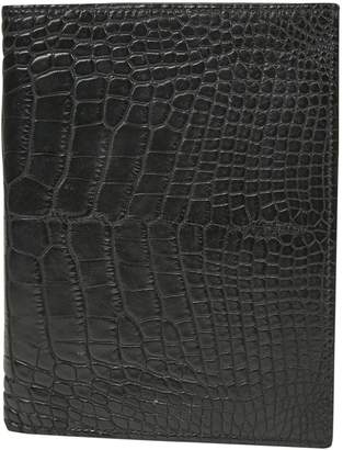 Hermes Black Alligator Wallets