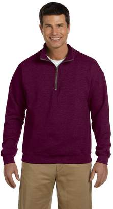Gildan Heavy Vintage Classic Quarter-Zip Cadet Collar Sweatshirt 2XL