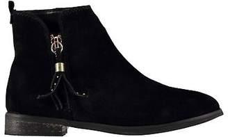 Miso Kids Girls Sophia Zip Child Boots Flat Ankle Tassels Everyday