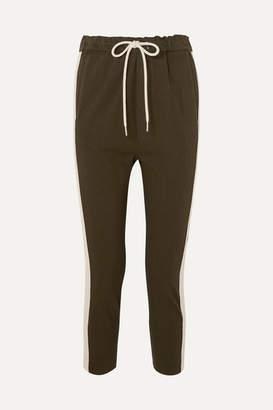 Bassike Striped Organic Cotton-jersey Track Pants