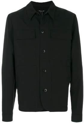 Helmut Lang front pocket shirt jacket