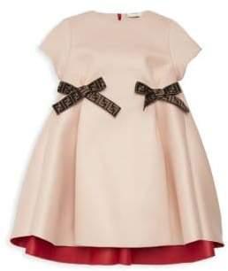 Fendi Little Girl's& Girl's Bow Dress