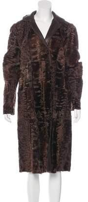 Fendi Persian Lamb Reversible Coat