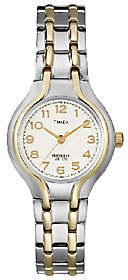 Timex Ladies' Two-Tone Sporty Dress Bracelet Wa tch $55 thestylecure.com