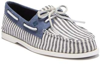 Sperry A/O 2-Eye Washed Canvas Boat Shoe