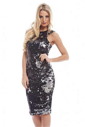 AX Paris Two Color Way Sequin Dress