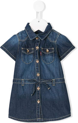 Levi's Kids stonewashed denim dress