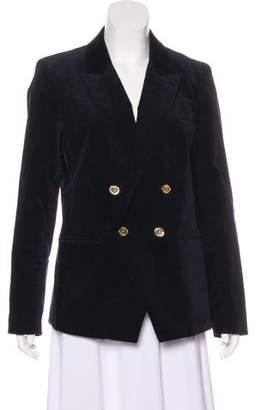 MICHAEL Michael Kors Velvet Structured Blazer