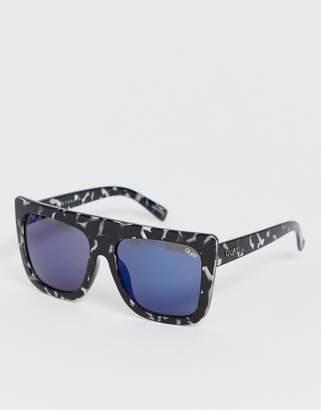 Quay flat top cafe racer sunglasses