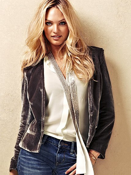 Victoria's Secret Velvet Jacket