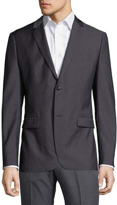Theory Men's Wellar Lorient Pinstripe Wool Jacket