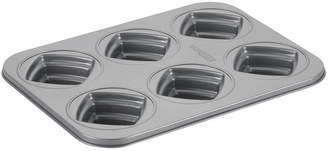 JCPenney CAKE BOSS Cake BossTM Specialty Bakeware 6-Cup Nonstick Square Cakelette Pan
