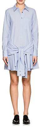 Derek Lam 10 Crosby WOMEN'S STRIPED COTTON TIE-WAIST SHIRTDRESS