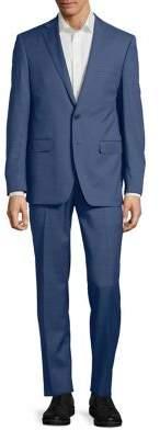 Calvin Klein Extreme Slim-Fit Stretch Wool Suit