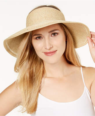 Nine West Roll-Up Packable Sun Visor