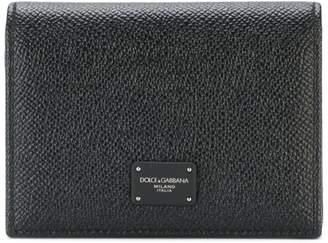 Dolce & Gabbana logo foldover wallet