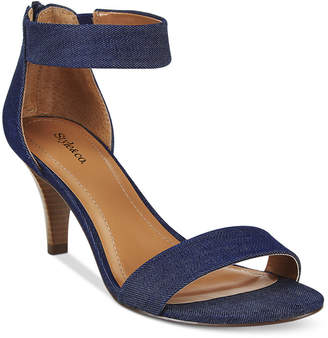Style & Co Paycee Two-Piece Dress Sandals, Only at Macy's $59.50 thestylecure.com