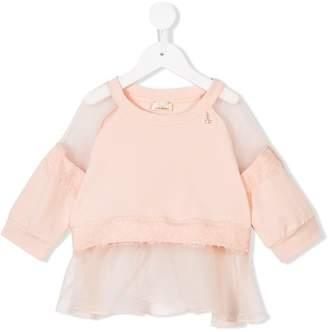 Elisabetta Franchi La Mia Bambina long sleeve blouse