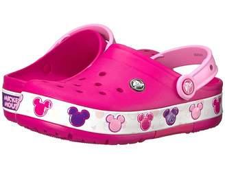 Crocs Crocband Mickey Fun Lab Lights Clog (Toddler/Little Kid)
