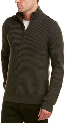 Vince Mock Neck Wool Pullover