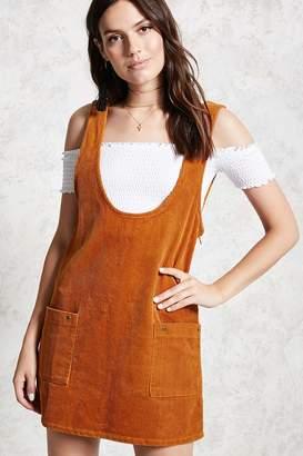Forever 21 Corduroy Scoop Neck Dress