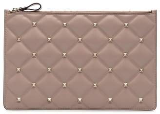 Valentino large Rockstud Spike clutch