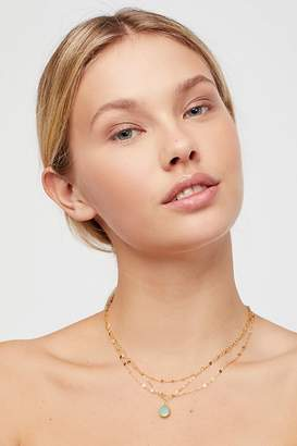 Marida Jewelry Triple Delicate Stone Necklace