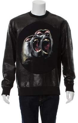 Givenchy 2016 Python Sweatshirt