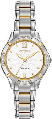 Citizen 30mm Eco-Drive Bracelet Watch, Two-Tone