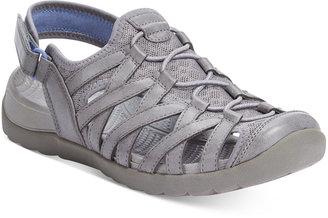 Bare Traps Frenzie Outdoor Flat Sandals $69 thestylecure.com