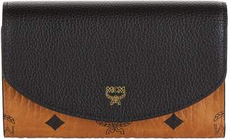 MCM Medium Block Flap Three Fold Wallet