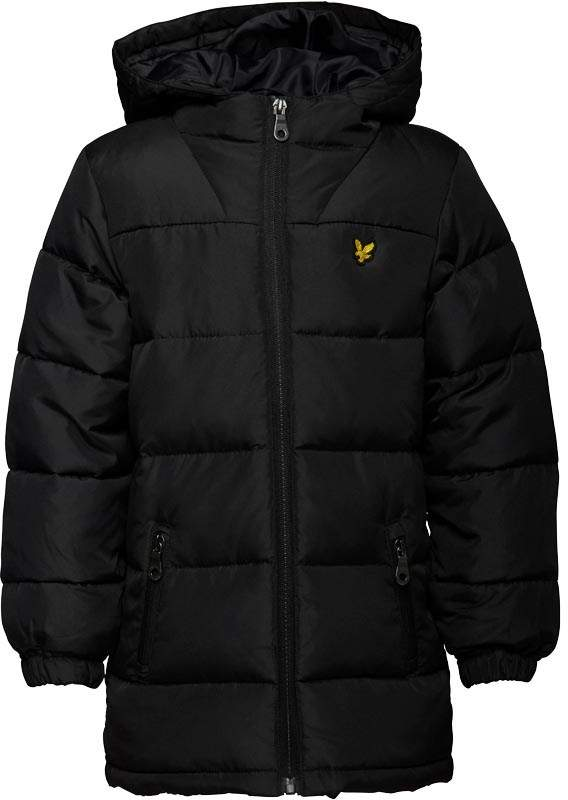 Boys Down Puffer Coat True Black
