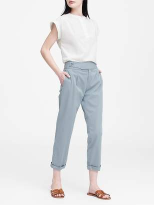 Banana Republic JAPAN EXCLUSIVE Pleated Cropped Chino