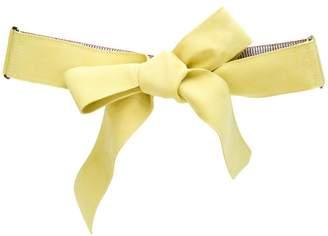 Missoni bow design belt